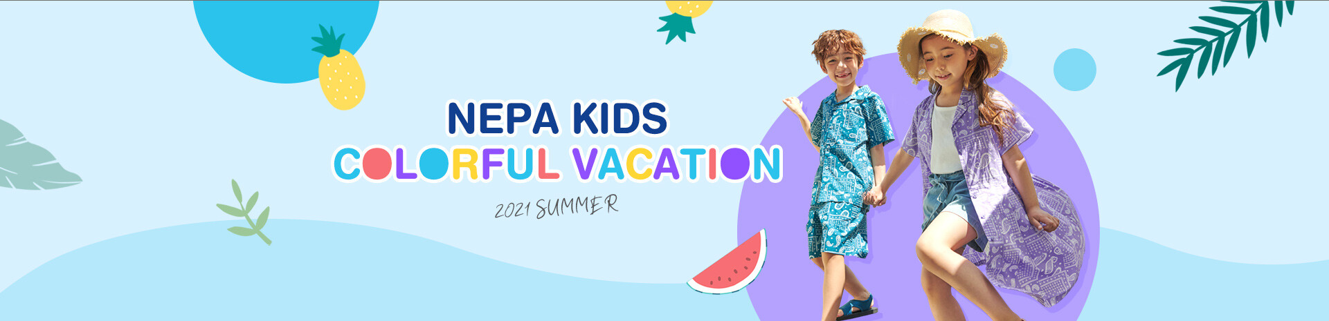 NEPAKIDS 21S/S COLORFUL VACATION