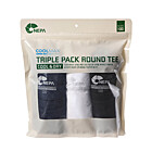 TRIPLE PACK ROUND TEE - 7DG5300