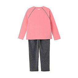 (KIDS)SOLID FLEECE SET- KDF5902