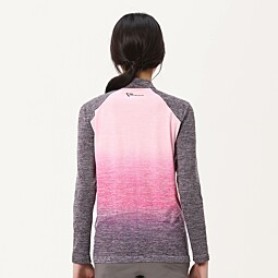 LUMINOSO ZIP TEE_W(FREE MOTION) - 7F25431