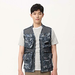 CRAFTER MESH VEST_M - 7F31402