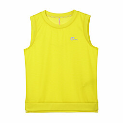 (KIDS)MESH SLEEVELESS TS - KF35701