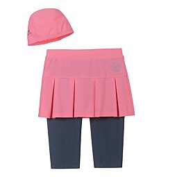 (KIDS)SKIRT SET WATER LEGGINGS - KF43008