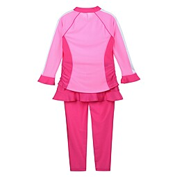 (KIDS)CARINO RASH GUARD SET - KF43014