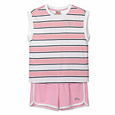 (KIDS)GIRLS STRIPE TRAINING SET- KF45903