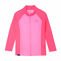 (KIDS)ZIP UP RASH GUARD TOP - KFD3004