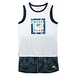(KIDS)TROPICAL SLEEVELESS SET - KFD5904