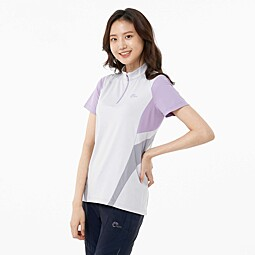 STHENNO ZIP TEE_W(FREEMOTION)