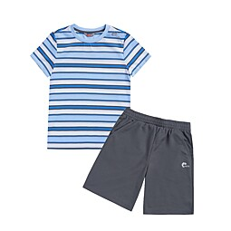 (KIDS)UOMO STRIPE TRAINING SET