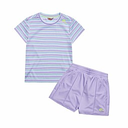 (KIDS)DONNA STRIPE TRAINING SET