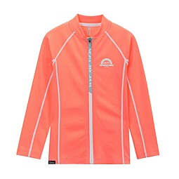 (KIDS)GAETA FULL ZIP RASH GUARD TOP