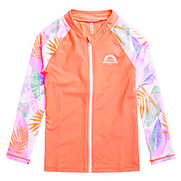 (KIDS)PONZA FULL ZIP RASH GUARD