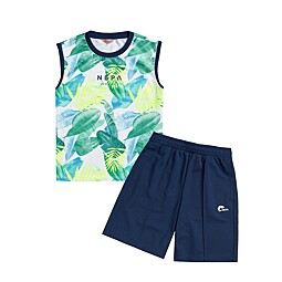 (KIDS)TROPICALE SLEEVELESS SET