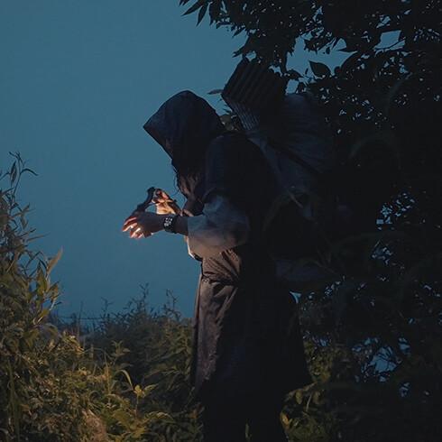 밍동과 함께하는 초여름 우중산행